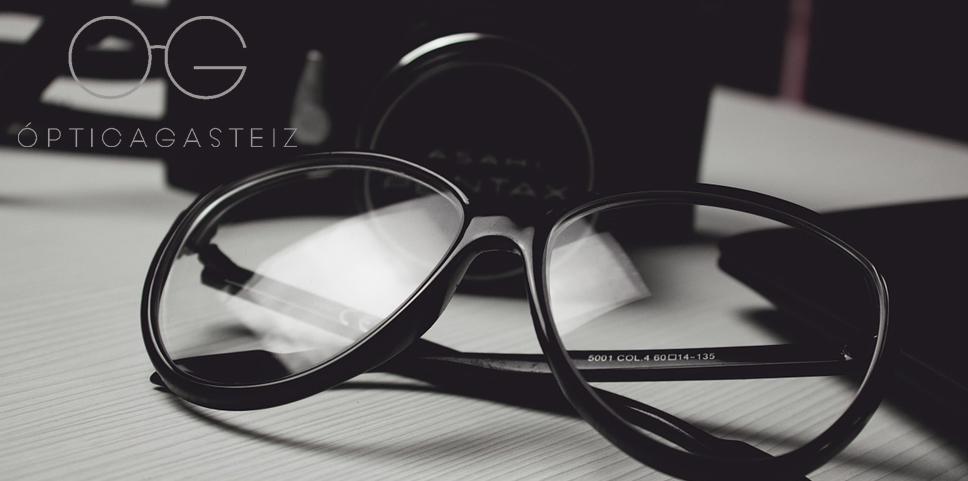 calibrado de las gafas