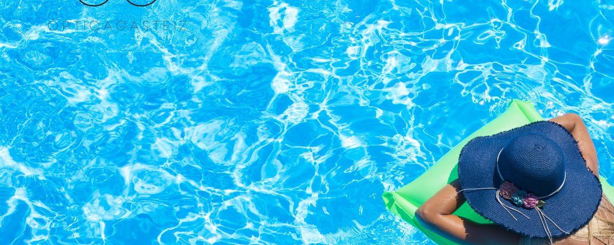 Nadar con lentillas